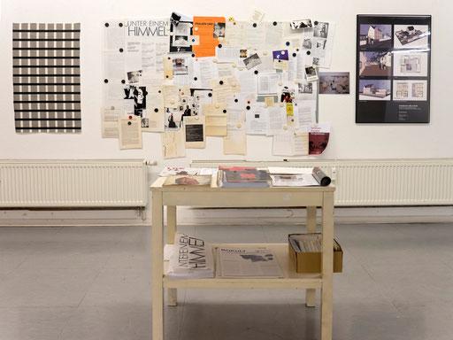 Materialien aus dem Atelierhaus Alte Schule