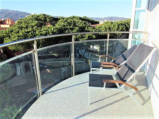 Квартира в Плайя де Аро вид на море