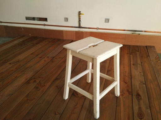 Test 1,2,3 Test ! Plancher mon beau plancher? - Photo © TiPii Atelier