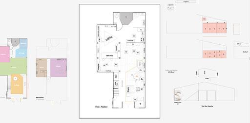Projet d'aménagement de l'Atelier, chaque chose à sa place ! - Photo © TiPii Atelier