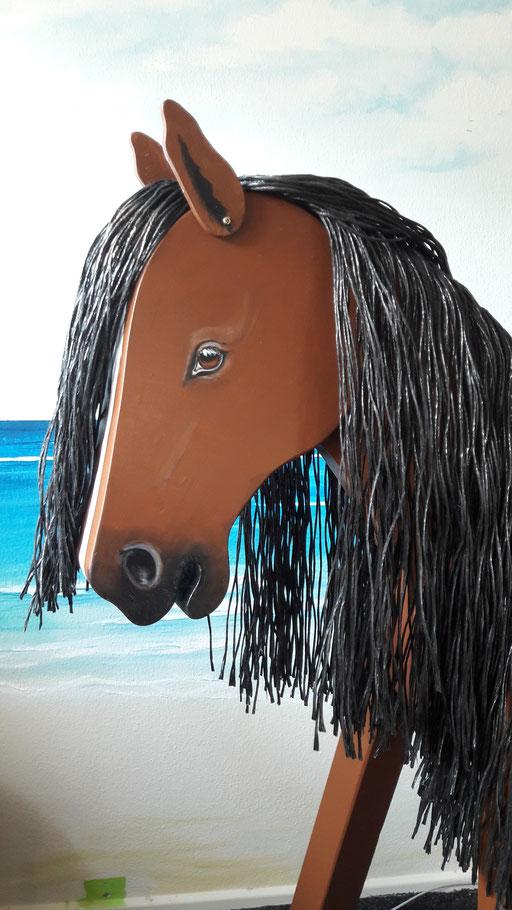 """Finca"" unser wunderschönes dunkelbraunes Pferd"