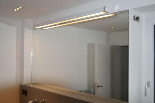 Spiegel - Beleuchtung - - © Glaserei Allgäuer