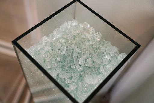 UV-Verklebung - Glasmöbel - © Glaserei Allgäuer