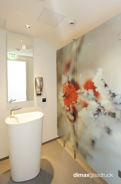 Digitaldruck - WC-Verglasung - © Lang u. Lang