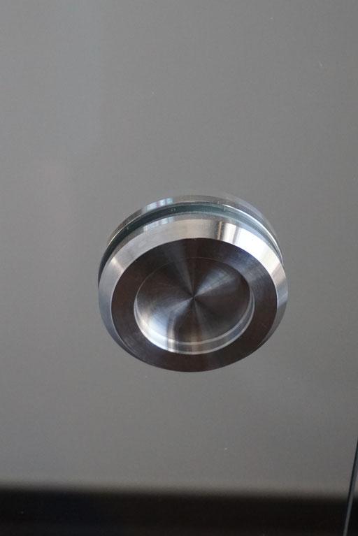 Ganzglasanlage - Griffmuschel - © Glaserei Allgäuer