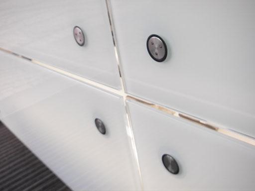 Glasfassade  - Punktgehalten - © Glaserei Allgäuer