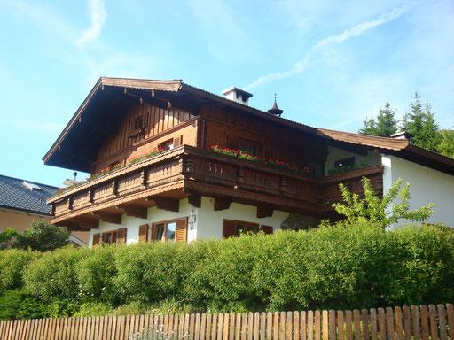 Haus Foidl im Sommer