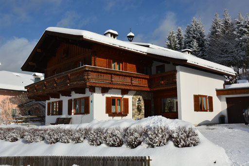 Haus Foidl im Winter