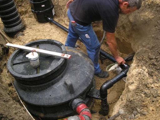 Anlagen für Regenwasserspeicherung & -nutzung
