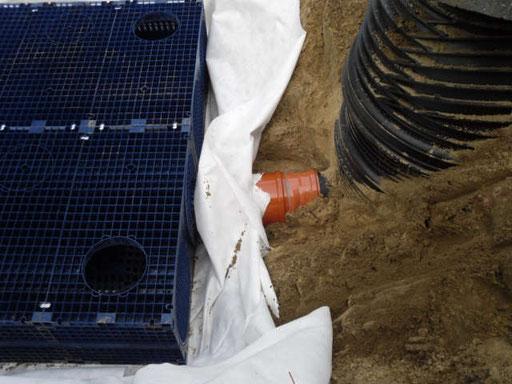 Anlage zur Regenwasserbehandlung