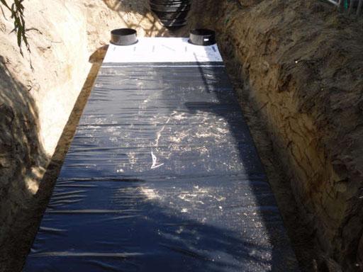Anlage zur Regenwasserbehandlung und -nutzung