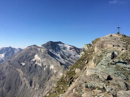 Am Gipfel des Ritterkopf