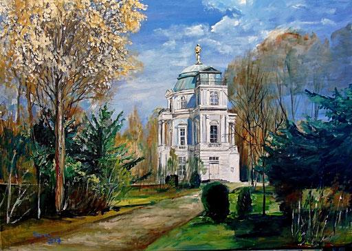 Belvedere im Schlosspark von Charlottenburg, 70x50 cm, 2017 (verk.)