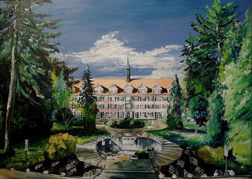 Schloss-Klinik Sonnenbühl I, 70x50 cm, 2016 (Auftragsarbeit)