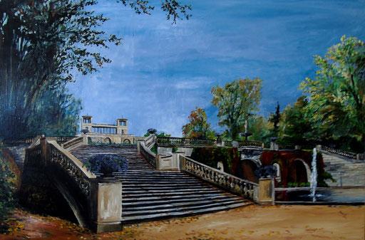 Orangerie, Potsdam, Park Sanssouci, 120x80cm, 2012 (verk.)