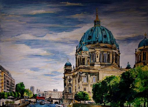 Berliner Dom, 120x90cm, 2014 (verk.)