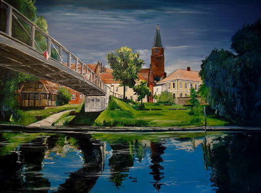 Dominsel, Brandenburg an der Havel, 120x90 cm, 2016