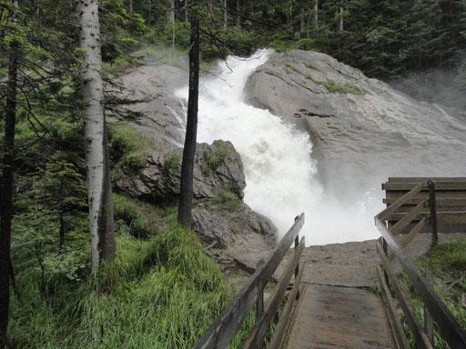 Barbarabrücke bei den Simmenfällen
