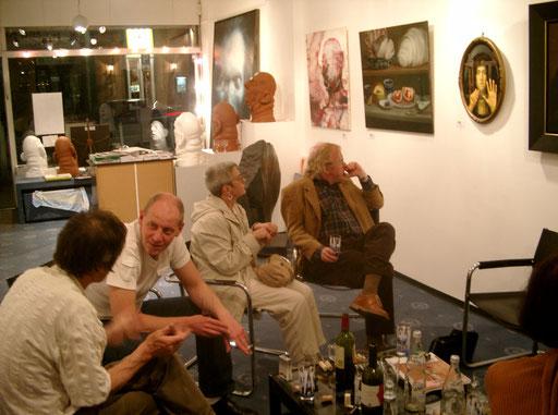 """Ausstellungseröffnung """"25 Jahre Galerie KK"""" 08.05.2003"""