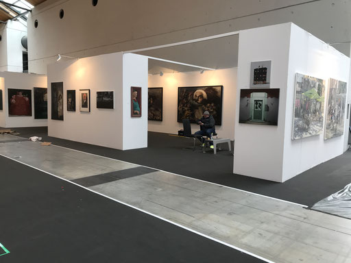 Art Karlsruhe 2018, Stand  H3/F 14 der Galerie KK