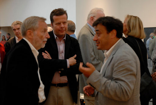 """Mit Pavel Feinstein 2010 im Osthaus Museum Hagen anlässlich der Eröffnung der Ausstellung """"Pavel Feinstein - Drama der Wahrscheinlichkeiten"""""""