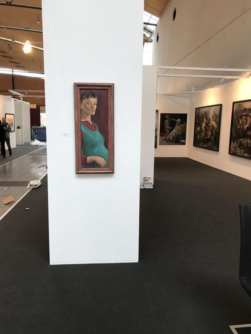 Art Karlsruhe 2018, Stand  H3/F 14 der Galerie KK, Bettina Moras