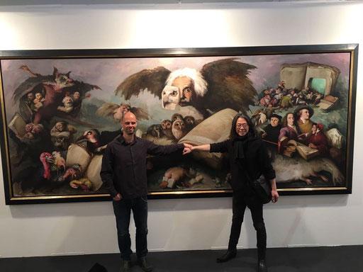 Art Karlsruhe 2017, Stand  H3/F 14 der Galerie KK, Yongbo Zhao