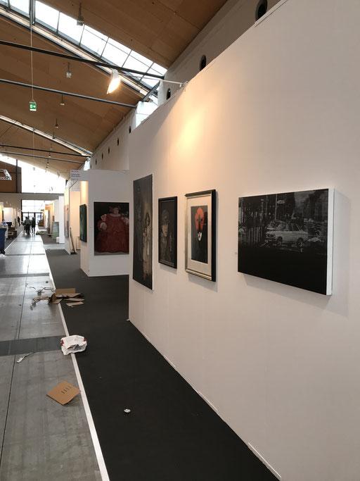 Art Karlsruhe 2018, Stand  H3/F 14 der Galerie KK,