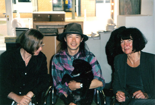 "Yongbo Zhao mit ""Xaver"" (2000) (Foto: Klemens Scheideler)"