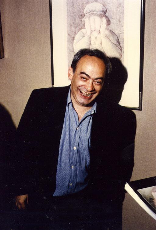 Roland Topor 1985 in der Galerie KK