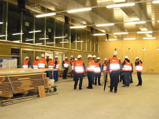 Besuch der neuen Curlinghalle am 27. April 2015