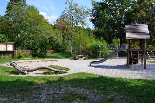 Spielplatz im Umweltgarten