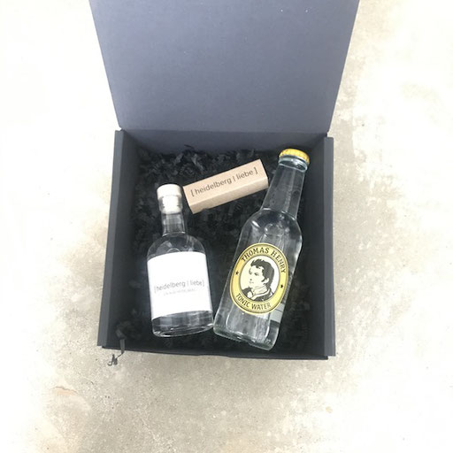 Paket Heidelberg Liebe: Gin/Tonic | Praline Heidelberg Liebe Komplett: 16,90 Euro