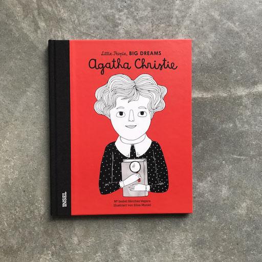 Buch 'little people big dreams' Agatha Christie 13,90 Euro