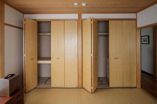 和室①の広い収納