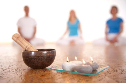 Meditation kann auch ganz leise sein
