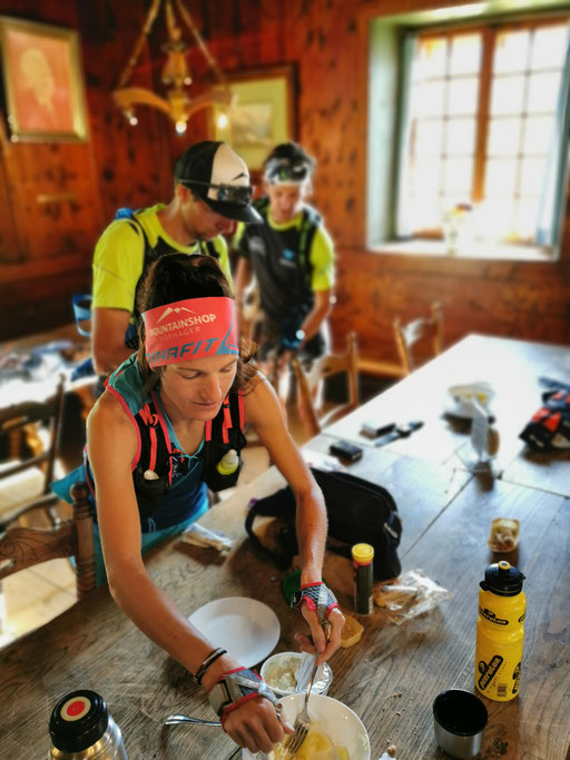 Stephanie Kröll auf der Berliner Hütte - Foto: Racingteam Mountainshop Hörhager