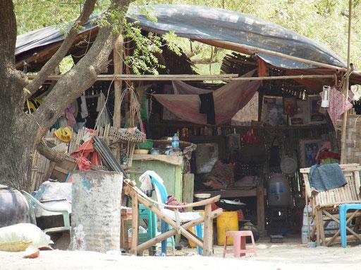 Armenhütte am Rande Altbagans