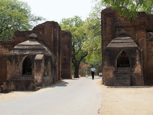 Osttor der Stadtmauer in Altbagan