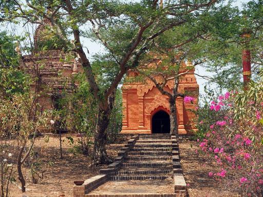 22 € Eintritt in Bagan - Geld für die Restaurierung der Pagoden?
