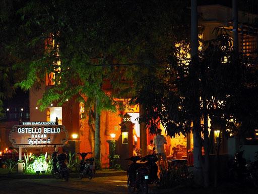 Abendstimmung im Hostello Bello