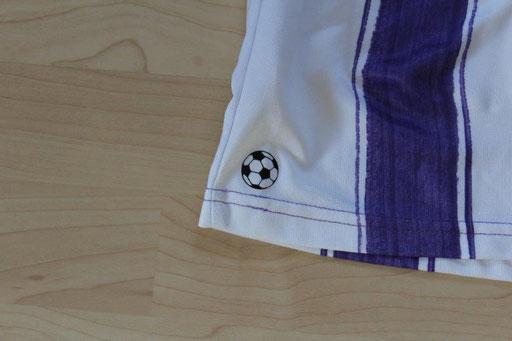 VfL Osnabrück 2010/11 Heim, München Patch (21.1.11 - 1860 München), Nr. 14 Siegert (90' +3 Rote Karte für Siegert) (Matchworn)