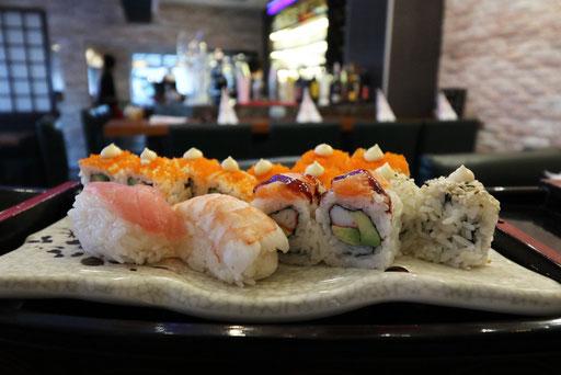 Sushi, Maki Rolls, Nigiri, Temaki ....