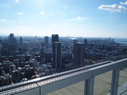 梅田スカイビル|空中庭園からの眺望