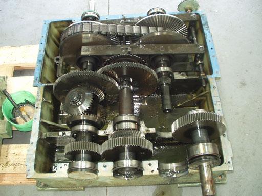 Reparación variador PIV de cadenas.