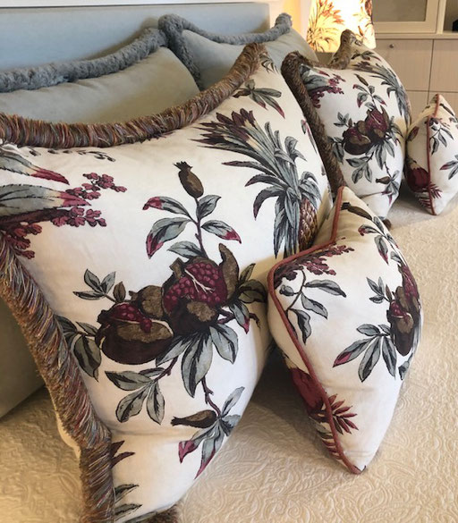 Penny Morrison, Dominica cushions
