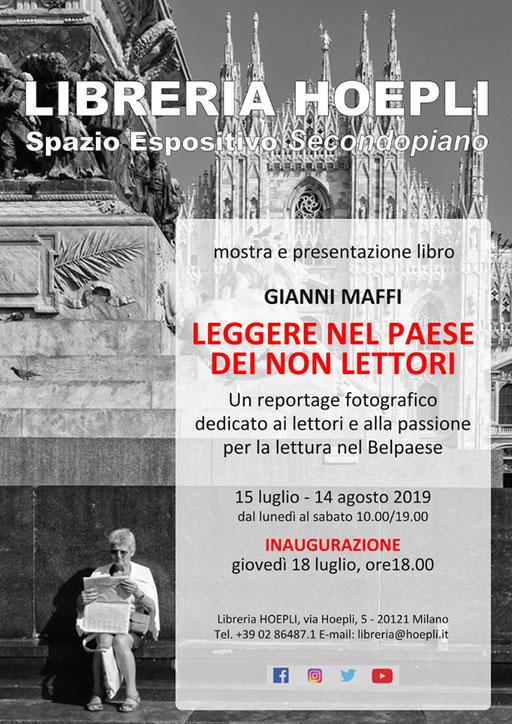 Gianni Maffi - NEL PAESE DEI NON LETTORI - Mostra Fotografica - Maggiori dettagli alla voce NEWS - MOSTRE