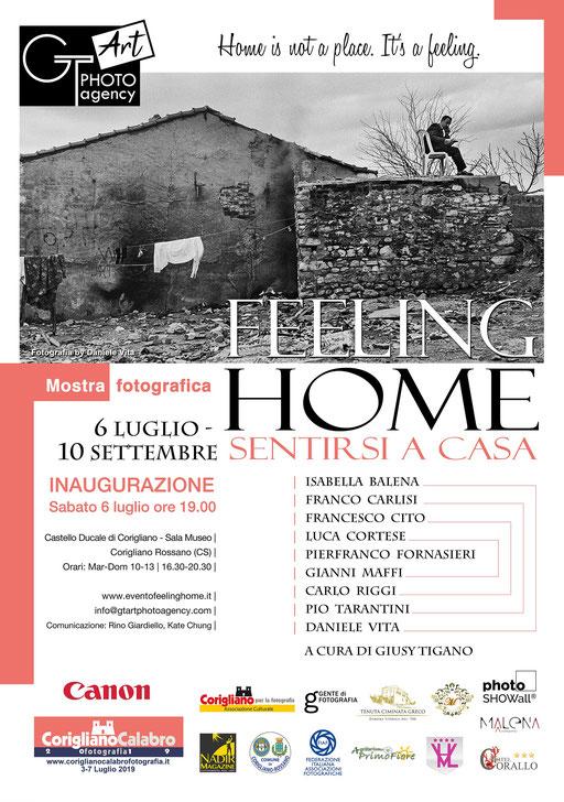 FEELING HOME, Sentirsi a casa - MOSTRA GT ART Photo Agency  | Maggiori dettagli alla voce NEWS - EVENTI