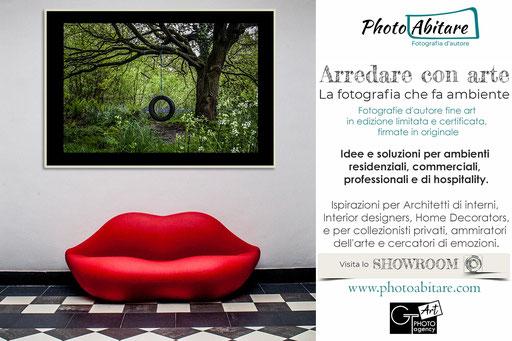 PHOTOABITARE: il nuovo BRAND di GT Art Photo Agency per la fotografia d'ambiente e di arredamento: www.photoabitare.com