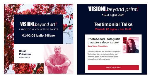 VISIONI BEYOND PRIN, evento con Luca Cortese - Maggiori dettagli alla pagina EVENTI